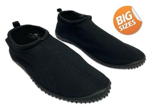 Air Balance Men/'s Aqua Water Shoes ABAD015 Big Size 13-15 Black