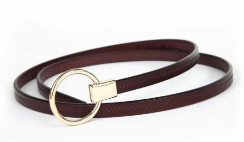 Women Belts Cow Leather Pin Buckle Vintage Style Top Quality Luxury Female