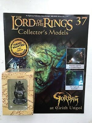 Magazine Billigverkauf 50% Honig Lord Of The Rings Collection Issue 37 Gorbag Eaglemoss Figure Spielzeug Film, Tv & Videospiele