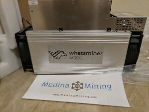 Details about 🔥 MicroBT - 65TH Whatsminer M20S with PSU 🔥