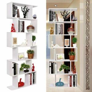 Scaffali Per Libri Design.Dettagli Su Libreria Snake Design Scaffale Mensola Moderna Bianco Mobile Libri Ripiani