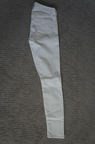 Skinny Looker Letvægts Designer Denim 28 Jeans Hvidcoated Moder Ny tYqSg