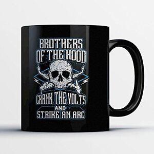 Warning I Did All The Welding Myself Coffee Mug