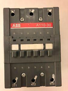 ABB A110-30 Non-Reversing IEC Contactor 140A 600VAC 10
