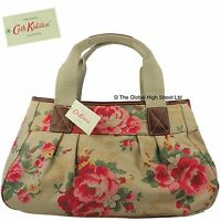 Cath Kidston Pleated Shoulder Bag Country Rose (sand) 100% Authentic
