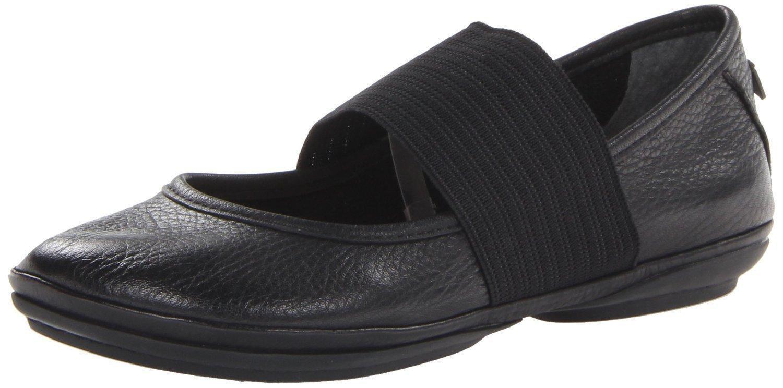 Zapatillas Camper Cuero Genuino 21595 derecho Nina para Mujer Bomba Zapatos Talla Blac