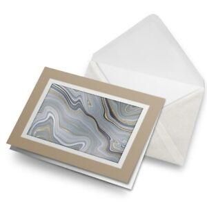 Greetings-Card-Biege-Grey-Marble-Gold-Stone-Ink-Art-21660