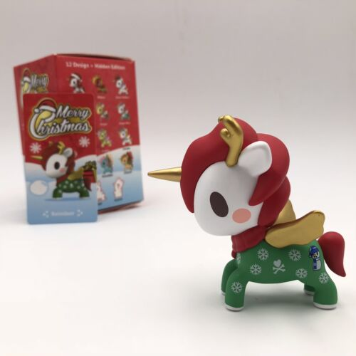 Tokidoki POP MART Unicorno Christmas Mini Figure Designer Toy Figurine Reindeer