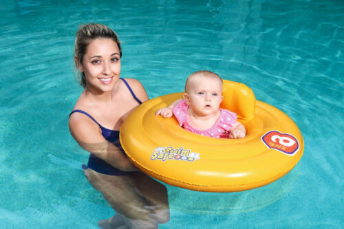 Swim Safe Round Baby Support Swiming Aid Pool Ring Trainer Seat 0-1 Year 32096