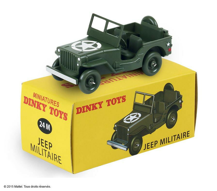Jeep version Military US Army Christmas 2015 ref 24 M to the 1 43 dinky toys