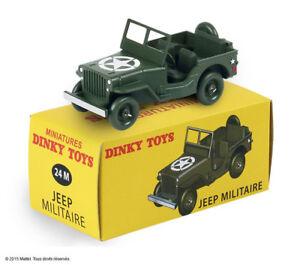 Jeep-version-Militaire-US-Army-Noel-2015-ref-24-M-au-1-43-de-dinky-toys-atlas