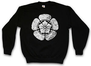 Oda Mon Shogunate Pullover Logo Shogun Samurai Clan Sweatshirt Ninja Sweater wwqfPz7r5