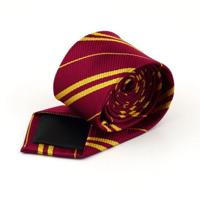 Harry Magic Tie Scarf Gryffindor Necktie Costume Boys School Ties New F7S
