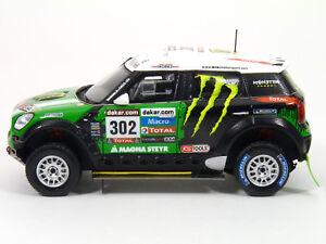 TrueScale-TSM144345-Mini-Countryman-All4-Peterhansel-1st-2012-Dakar-Resin-1-43