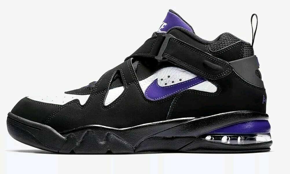 Nike Air Force Max CB Men (Dimensione 14) nero  bianca viola AJ7922 004  si affrettò a vedere