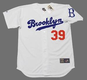 Image is loading ROY-CAMPANELLA-Brooklyn-Dodgers -Majestic-Cooperstown-Home-Baseball- 25aa115d38f