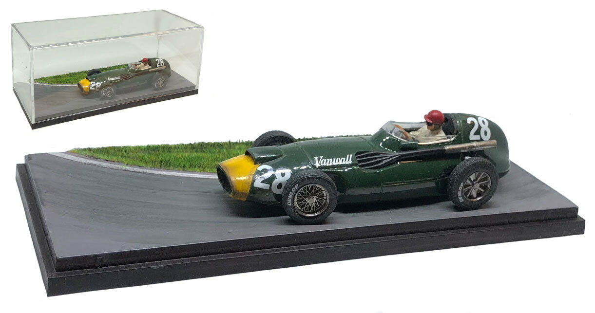 Vanwall VW5 L4 Winner Italian GP 1958 - Tony Brooks 1 43 Scale