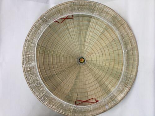 vietnamese thailand 40cm diameter, 18 CM DEEP Straw Rice farmer hat chinese