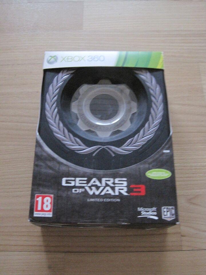 Gears of war 3, Xbox 360