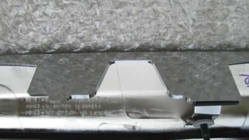 10-12 NISSAN ALTIMA S SL SR TRUNK TAILGATE CHROME MOULDING WITH CAMERA OPTION