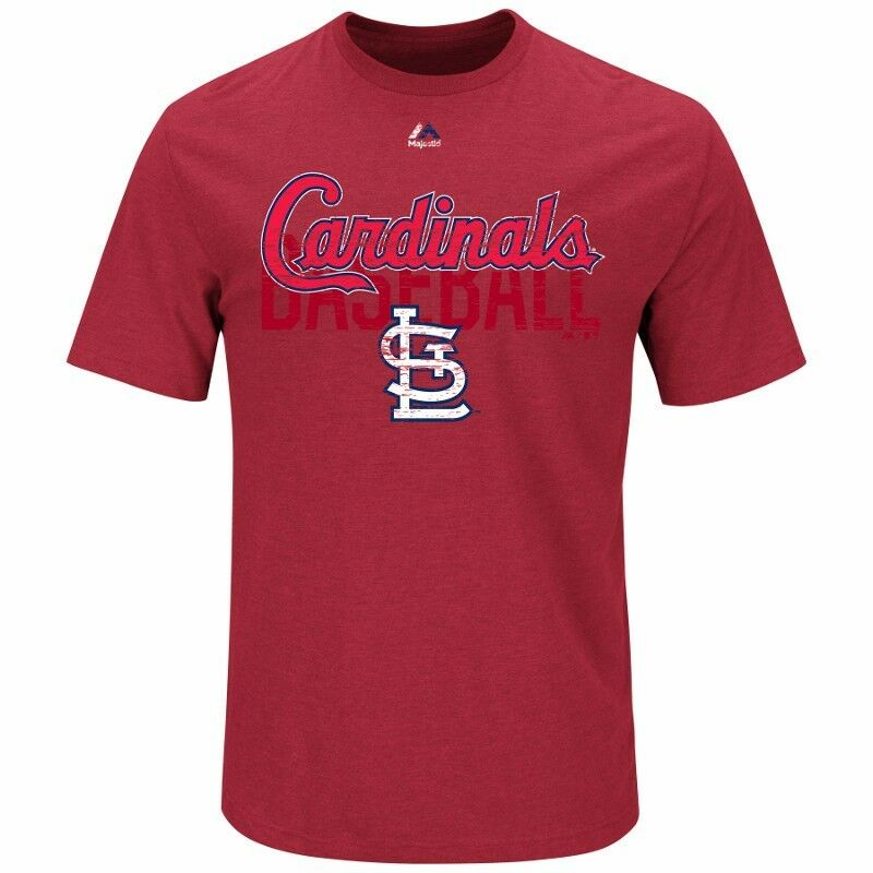 MLB Baseball T-Shirt ST. LOUIS CARDINALS All-in-the-Game von Majestic Majestic Majestic 264ca3