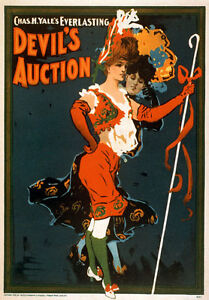B17-Vintage-1902-Burlesque-Theatre-Poster-A1-A2-A3