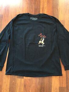 "Travis Scott merch Astroworld Long Sleeve T-shirt /""WISH YOU WERE HERE/"" SIZE L"