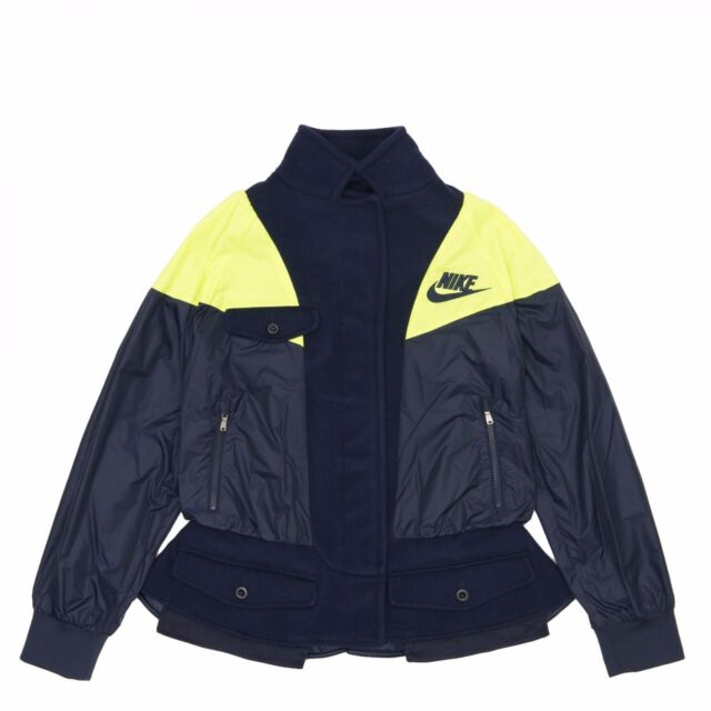 X 802238 Military 451 Out Nikelab Sacai For Jacket Size Coat Nike S SRLcj354Aq