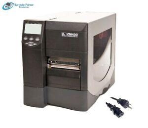 Z-Net 203 x 203DPI Impresora de Etiquetas Zebra ZM400 200dpi EPL EPL, 200dpi, Z-Net, 203 x 203 dpi, 254 mm//s, EPL,XML,ZPL,ZPL II, Al/ámbrico, USB 2.0, 16 MB