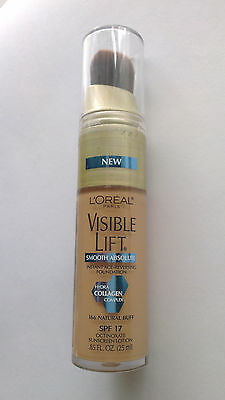L'Oreal Visible Lift Smooth Absolute Foundation 166 Natural Buff