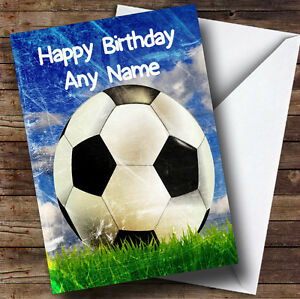 Football-On-The-Grass-Personalised-Birthday-Greetings-Card