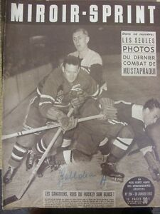 28-01-1952-Miroir-Sprint-French-Sports-Newspaper-Content-To-Include-Ice-Hocke