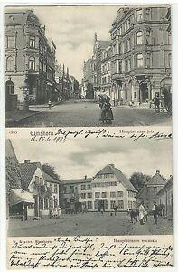 Elmshorn Hauptstrasse jetzt & vormals 1905 - Pfalz, Deutschland - Elmshorn Hauptstrasse jetzt & vormals 1905 - Pfalz, Deutschland