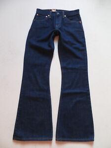 Levi-039-s-516-Schlag-Jeans-Hose-W-27-L-34-Hippie-Indigo-Denim-Schlaghose-KULT
