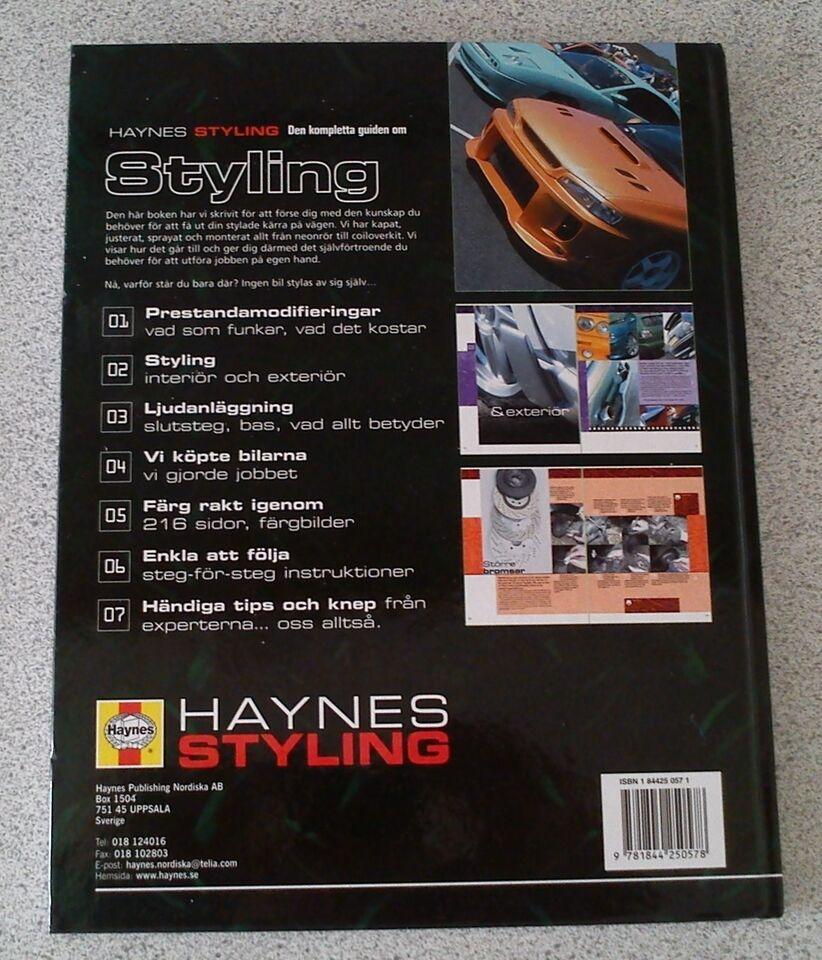 Stylingsbog, Haynes Styling