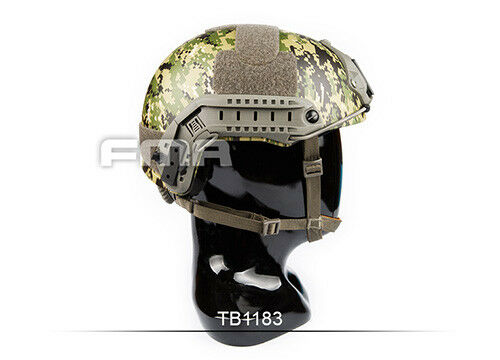 Casco Militar Táctico FMA AOR2 TB1183 Para Paintball