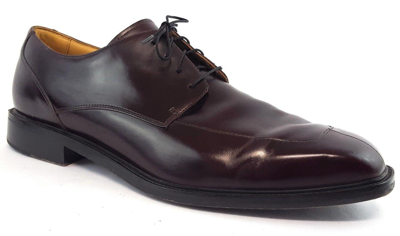 ROCKPORT Burgundy Split Apron Toe Oxfords 13 M Mens Dress chaussures