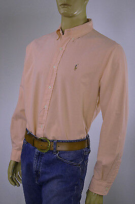 Ralph Lauren Classic Fit Oxford Cotton Turquoise Long Sleeve Shirt// Pony-NWT