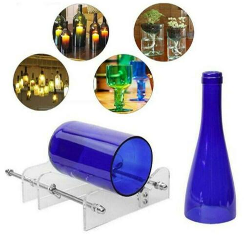 Crafts Cutting Wine Beer Bottles Tools Glass Bottle Cutter Machine Tool Kit New