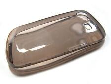 Custodia silicone GEL TRASPARENTE nera per SAMSUNG S3350 chat ch@t