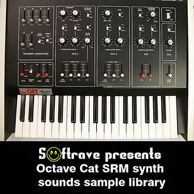 OCTAVE CAT SRM sample library - vintage analog synth samples of synthesizer  | eBay