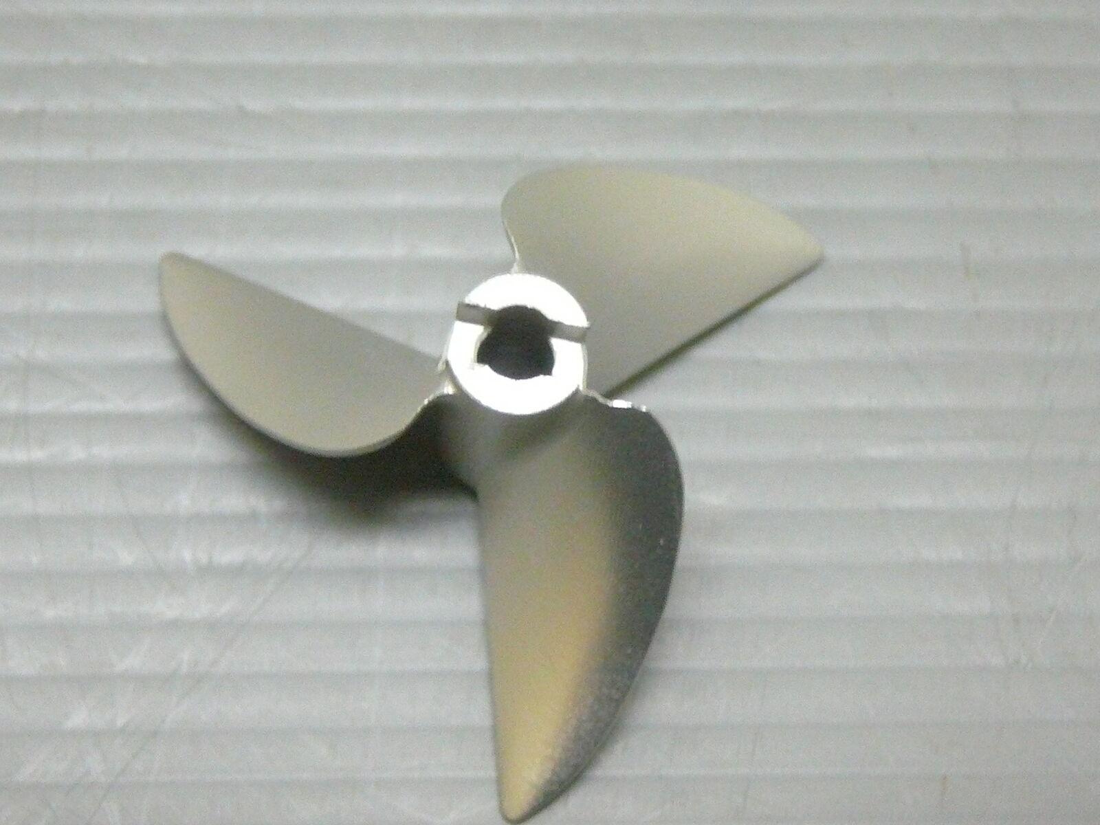 VXP V850 3 Right Turn 50mm 1.8p 3 16  CNC Alloy Non Lift Prop De Tongued Boat