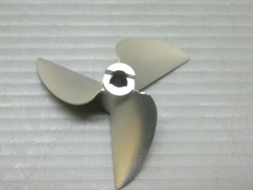 VXP V640//3 Right Turn 40mm 1.6p 4mm CNC Alloy Non Lift Prop De Tongued Boat