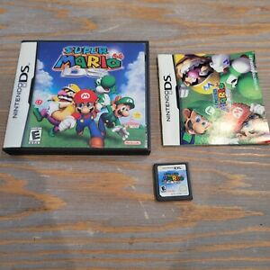 Super Mario 64 DS (Nintendo DS, 2004) Complete CIB Video Game with Manual