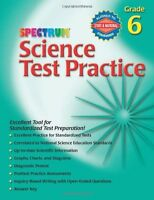 Science Test Practice, Grade 6 (spectrum)