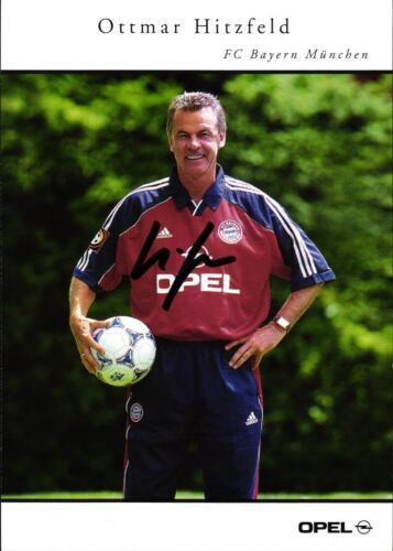 FC Bayern München 1999//2000 AK 4513 Ottmar Hitzfeld