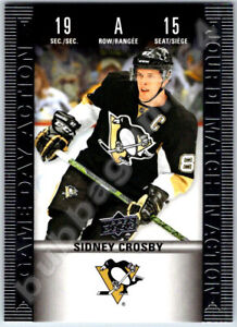 2019-20-UD-TIM-HORTONS-GAME-DAY-ACTION-SIDNEY-CROSBY-INSERT-CARD-HGD-15-Mint