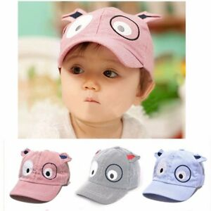 3e5660012ee Boys Kids Baby Toddler Newborn Poo Peaked Hat Beret Sun Baseball ...