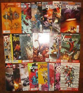 HUGE-X-Men-Lot-MARVEL-Unlimited-X-Treme-Schism-Amazing-All-New-Uncanny-X-Force