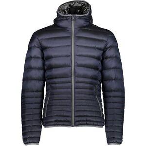 Details zu CMP Herren Daunenjacke 3K29477 N950 black blue leichte Winterjacke